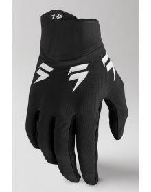 Shift MX White Label Trac Youth Gloves Black