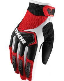 Thor 2019 Spectrum Youth Gloves Red/Black/White