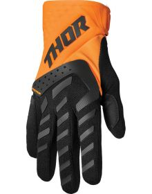 Thor 2022 Spectrum Youth Gloves Orange/Black