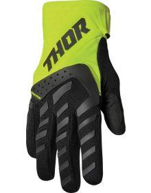 Thor 2022 Spectrum Youth Gloves Black/Acid