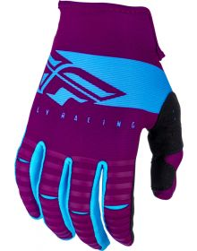 Fly Racing 2019 Kinetic Youth Gloves Port/Lightblue
