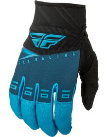 Fly Racing 2019 F-16 Youth Gloves Blue/Black/Hi-Vis