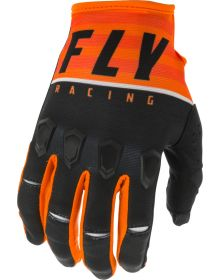 Fly Racing 2020 Kinetic K120 Youth Glove Orange/Black/White