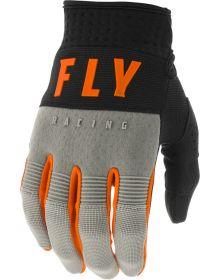 Fly Racing 2020 F-16 Youth Glove Grey/Black/Orange
