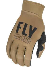 Fly Racing 2021 Pro Lite Youth Gloves Khaki/Black