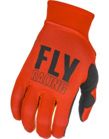 Fly Racing 2021 Pro Lite Youth Gloves Red/Black