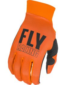 Fly Racing 2021 Pro Lite Youth Gloves Orange/Black