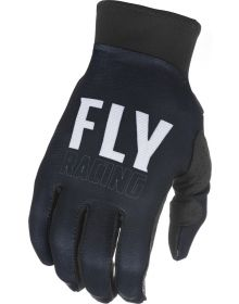 Fly Racing 2021 Pro Lite Youth Gloves Black/White