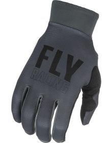 Fly Racing 2021 Pro Lite Youth Gloves Grey/Black