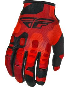 Fly Racing 2021 Kinetic K221 Youth Gloves Red/Black