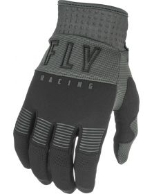 Fly Racing 2021 F-16 Youth Gloves Black/Grey