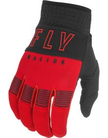 Fly Racing 2021 F-16 Youth Gloves Red/Black