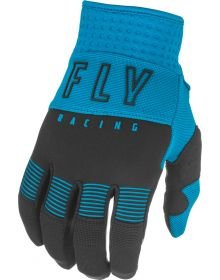 Fly Racing 2021 F-16 Youth Gloves Blue/Black