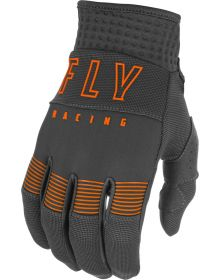Fly Racing 2021 F-16 Youth Gloves Grey/Orange