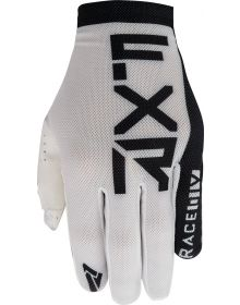 FXR 2021 Slip-On Air MX Youth Glove White/Black