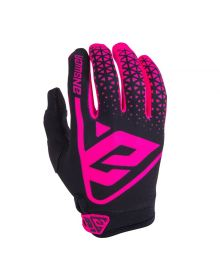 Answer Racing 2019 AR1 Womens Gloves Flo Pink/Black