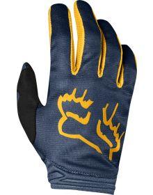 Fox Racing 2019 Dirtpaw Womens Glove Mata Navy/Yellow