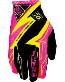 O'Neal Matrix Womens Gloves Pink