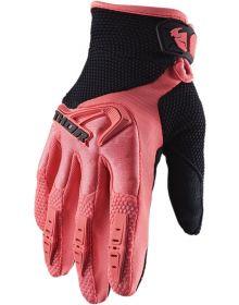Thor 2020 Spectrum Womens Glove Coral/Black