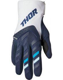 Thor 2022 Spectrum Womens Gloves Midnight/White