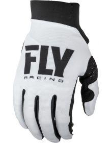 Fly Racing 2019 Pro Lite Womens Gloves White/Black