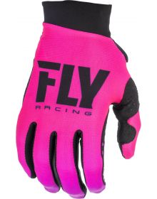 Fly Racing 2019 Pro Lite Womens Gloves Neon Pink/Black