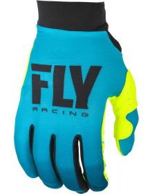 Fly Racing 2019 Pro Lite Womens Gloves Blue/Hi-Vis