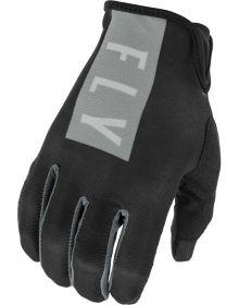 Fly Racing 2021 Lite Womens Gloves Black/Grey