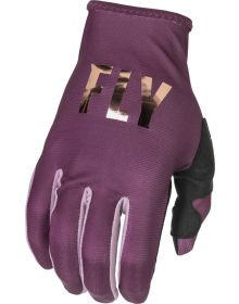 Fly Racing 2022 Lite Womens Gloves Mauve