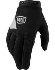 100% Ridecamp Womens Gloves Black