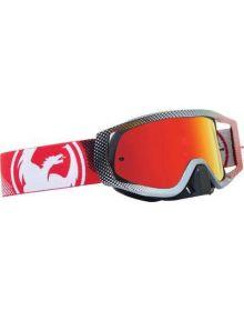 Dragon Vendetta Goggles Fade Red w/ Red Ion Lens