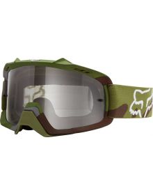 Fox Racing Air Space Youth Goggles Camo Green