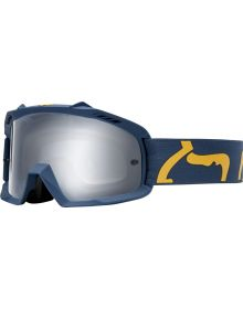 Fox Racing 2019 Airspace Youth Goggle Race Navy/Yellow