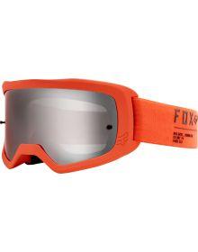Fox Racing Main II Gain Spark Goggle Fluorescent Orange