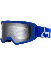 Fox Racing Main II Race Goggle Blue