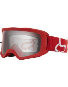 Fox Racing Main II Race Goggle Red
