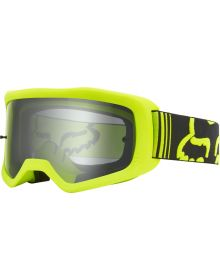 Fox Racing Main II Race Goggle Fluorescent Yellow