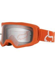 Fox Racing Main II Race Goggle Fluorescent Orange