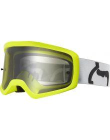 Fox Racing Main II PC Prix Youth Goggle Grey