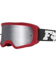 Fox Racing Main II Linc Spark Goggle Flame Red