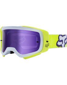 Fox Racing 2020 Air Space PC Honr Goggle Yellow