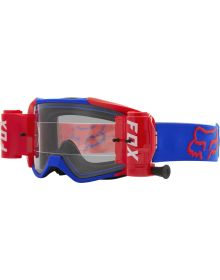 Fox Racing Vue Goggles W/Roll Off Blue