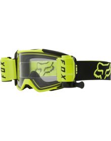 Fox Racing Vue Goggles W/Roll Off Flo Yellow