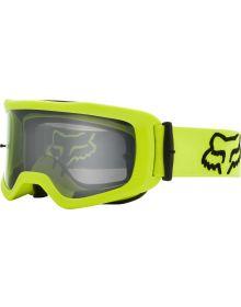 Fox Racing Main S-Stray Goggle Flo Yellow