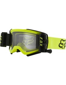 Fox Racing Airspace Stray W/Roll Off Goggle Flo-Yellow