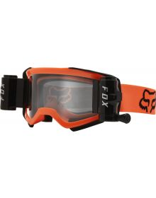Fox Racing Airspace Stray W/Roll Off Goggle Flo Yellow