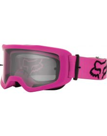 Fox Racing Main Stray Youth Goggle Pink