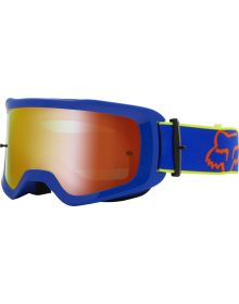 Fox Racing Main Oktiv Pc Youth Goggle Blue