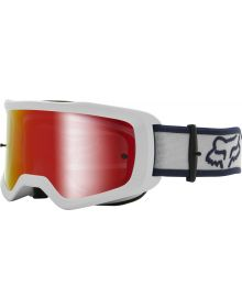 Fox Racing Main Barren Youth Goggle White
