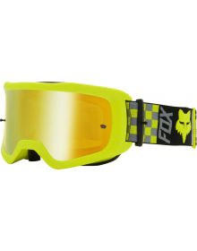 Fox Racing Mail Illmatik Youth Goggle Flo Yellow